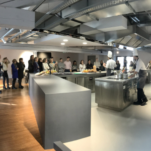 Cooking Show à la Cité Internationale de la Gastronomie de Lyon lors des RDV à Lyon 2019