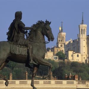 Place Bellecour Louis XIV - Tristan Deschamps