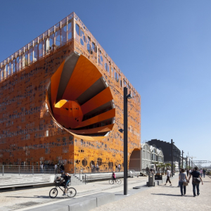 Le cube Orange La Confluence - Jakob + MacFarlane architectes - www.b-rob.com