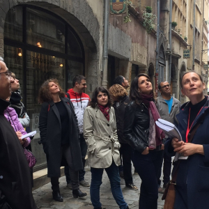Guided tour in the Vieux-Lyon  © S. Delyons