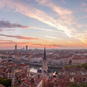 Vue panoramique sur Lyon © Jean-Charles Garrivet